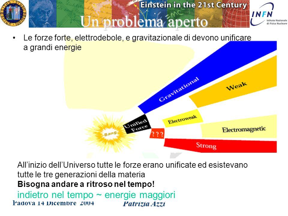 Padova 14 Dicembre 2004 Patrizia Azzi Se si hanno fortuna e tenacia…