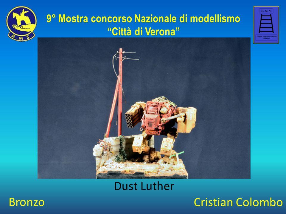 Andrea Molinari Vita da Nani 9° Mostra concorso Nazionale di modellismo Città di Verona Argento