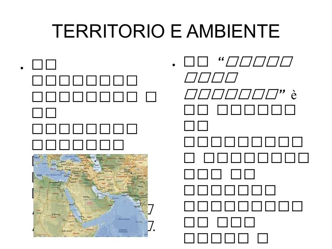 AMBIENTI CLIMATICI ● Il medio oriente è diviso in tre ambienti climatici : l ambiente desertico caratterizza la penisola arabica ; l ambiente della steppa è caratteristico degli altipiani e quello mediterraneo si trova nelle zone costiere.