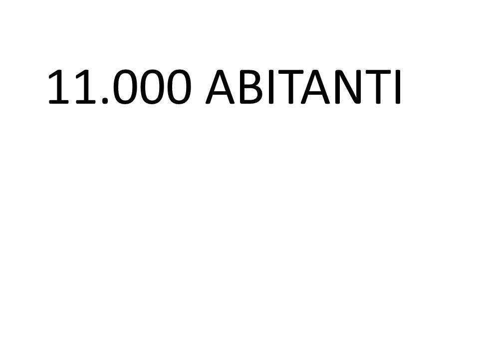 11.000 ABITANTI