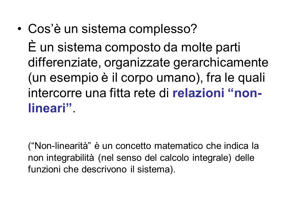 Per la meccanica di Newton i sistemi sono: 1.