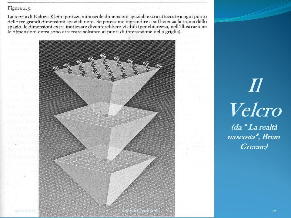 """Il Velcro (da """" La realtà nascosta"""", Brian Greene) 15/10/2013 Rodolfo Damiani10"""