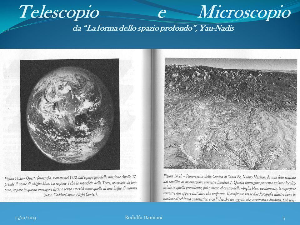 """Telescopio e Microscopio da """"La forma dello spazio profondo"""", Yau-Nadis 15/10/2013 Rodolfo Damiani5"""