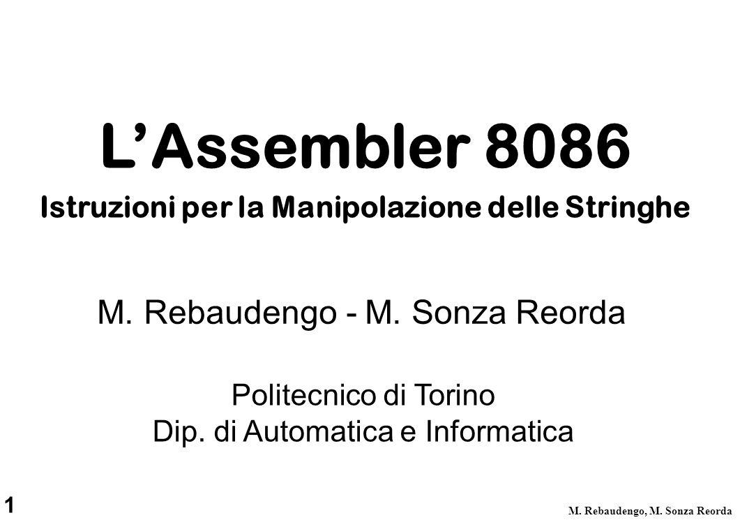 22 M.Rebaudengo, M.