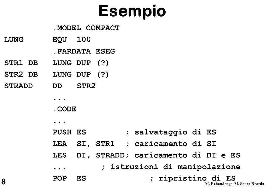 8 M. Rebaudengo, M.
