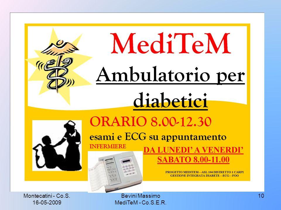 Montecatini - Co.S. 16-05-2009 10Bevini Massimo MediTeM - Co.S.E.R.