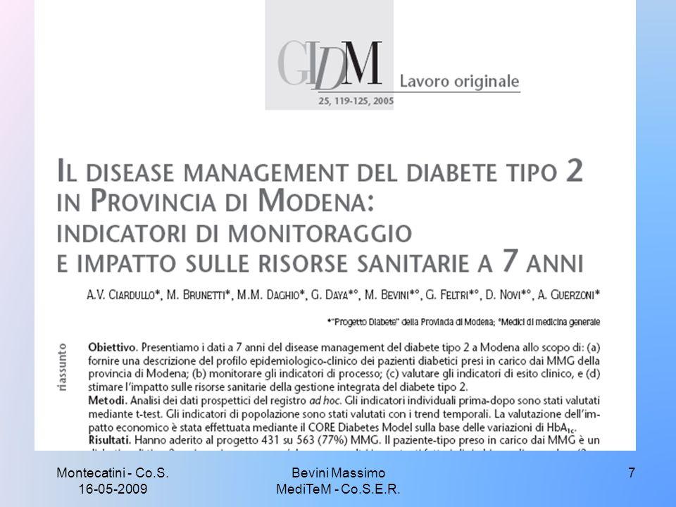 Montecatini - Co.S. 16-05-2009 7Bevini Massimo MediTeM - Co.S.E.R.