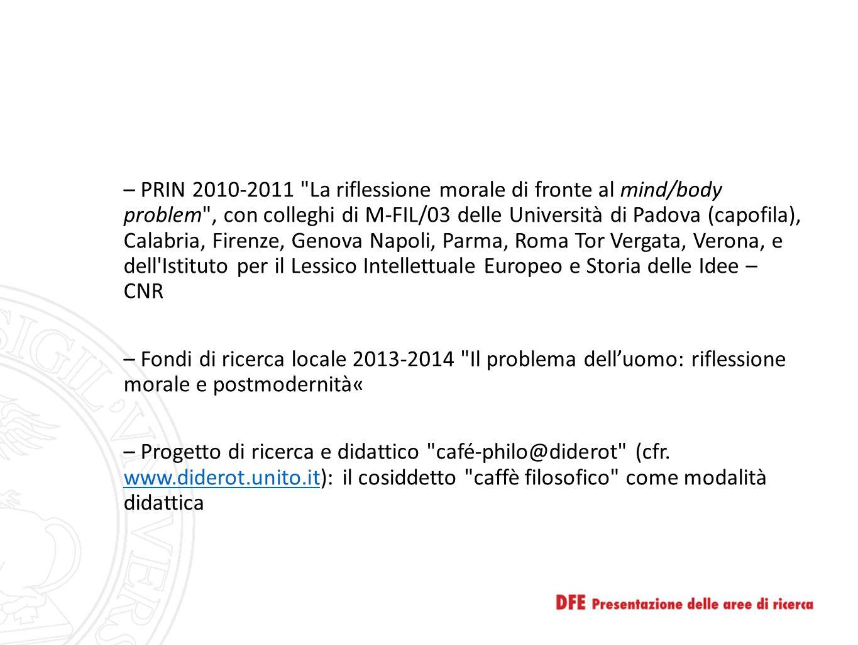 – PRIN 2010-2011