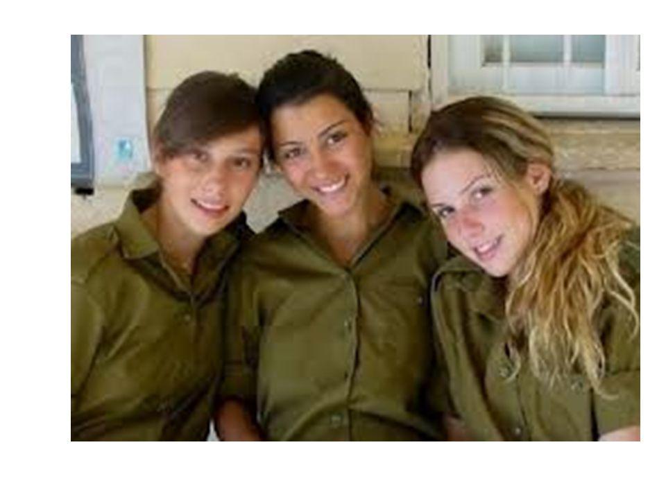 ISRAELE OGGI SERVIZIO OBBLIGATORIO 3 ANNI PER GLI UOMINI 20 MESI PER LE DONNE (DOPO, RICHIAMATI 1 MESE ALL'ANNO FINO A 40 ANNI) ESONERATI DALL'OBBLIGO I CITTADINI ARABI.
