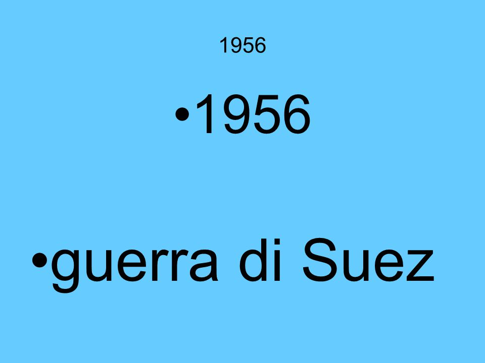 1956 guerra di Suez
