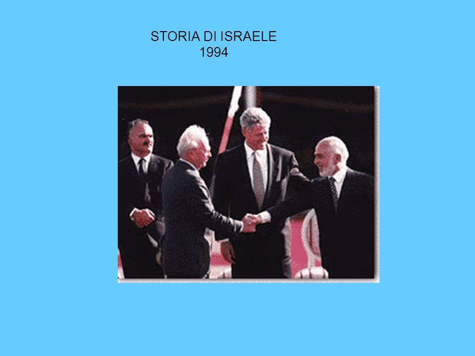 STORIA DI ISRAELE 1994