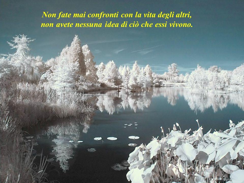 Fate la pace con ciò che è passato, in modo da non complicare il presente.