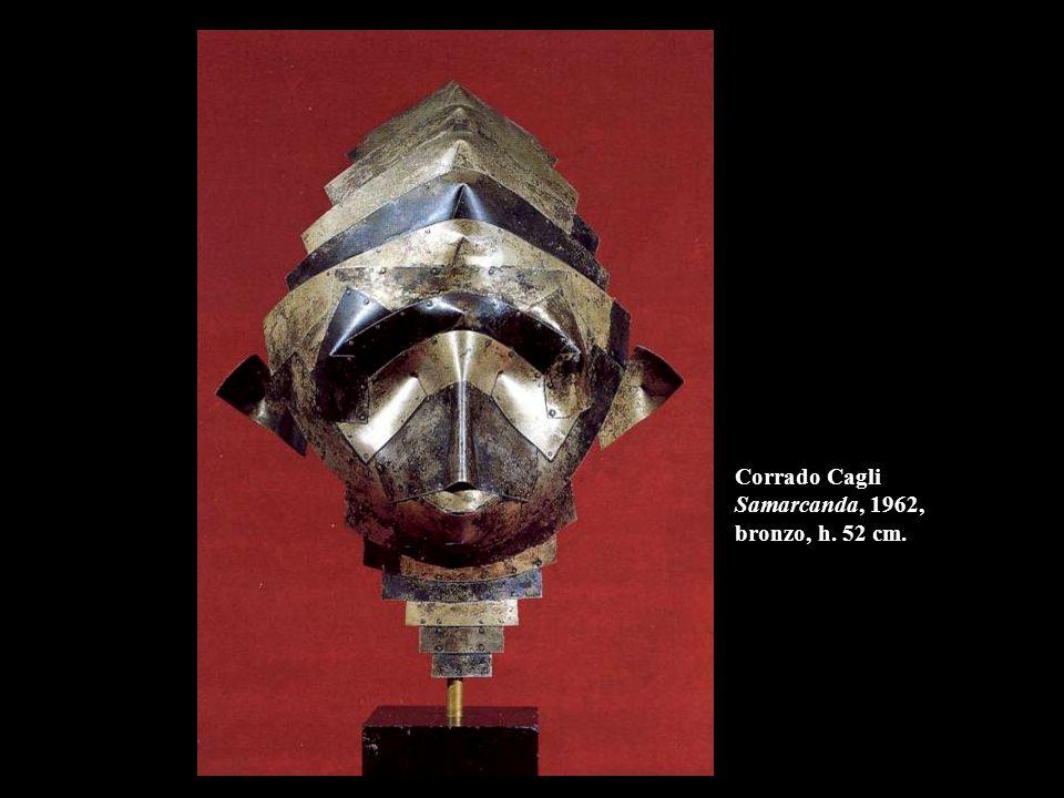 Corrado Cagli Samarcanda, 1962, bronzo, h. 52 cm.