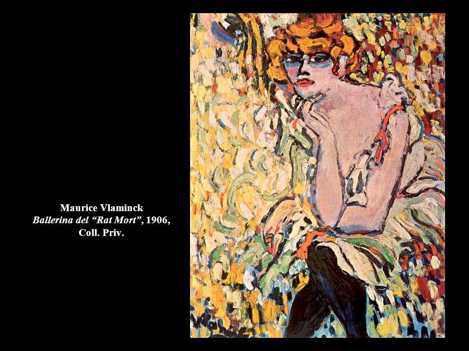 """Maurice Vlaminck Ballerina del """"Rat Mort"""", 1906, Coll. Priv."""