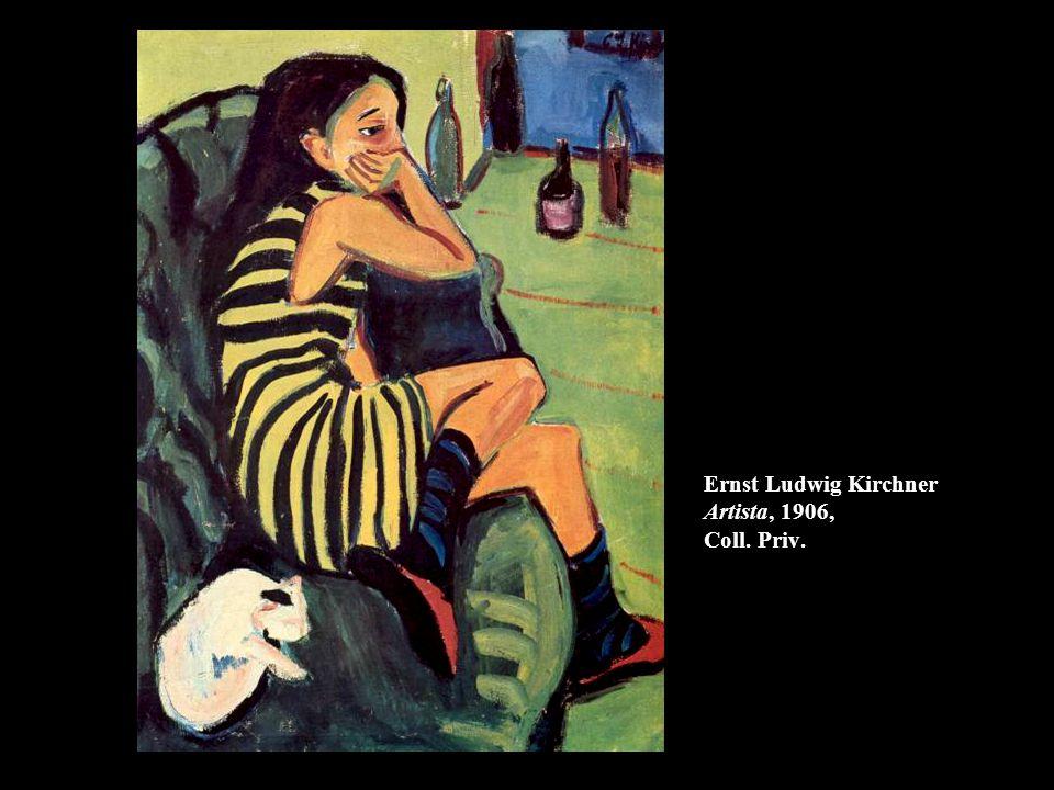 Ernst Ludwig Kirchner Artista, 1906, Coll. Priv.