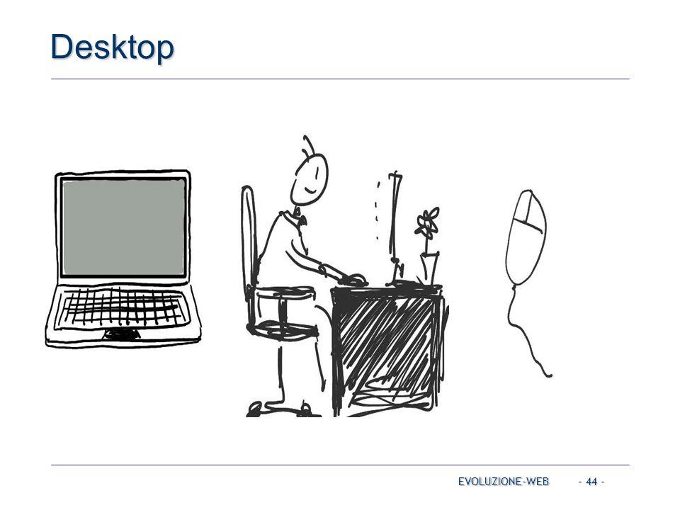 - 44 - Desktop EVOLUZIONE-WEB