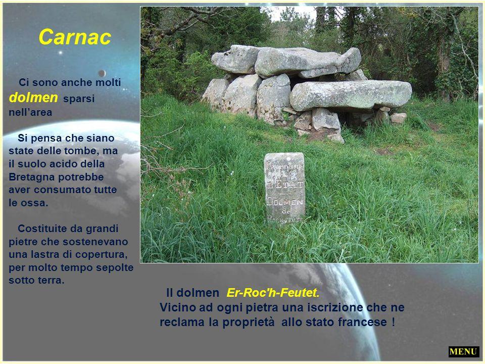 555 Menhir a Kerlescan (luogo dell' incendio) Carnac Kerlescan