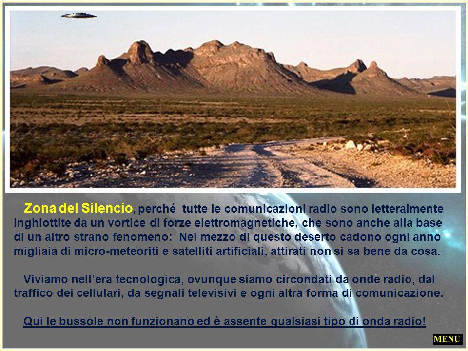 La Zona del Silencio Uno dei misteri più affascinanti ma meno conosciuti del nostro pianeta si trova in una zona desertica di 50 km quadrati a Nord de