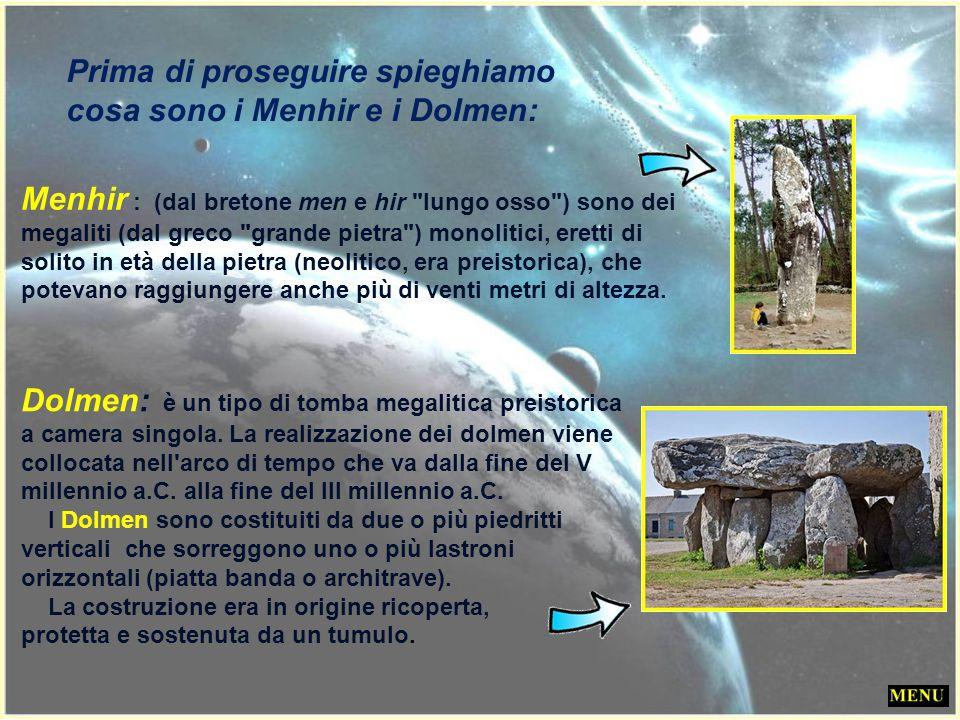 Il paese è noto per il complesso megalitico (tra i maggiori al mondo), comprendente vasti campi di menhir e di dolmen (oltre 3.000). 1.169 menhir disp