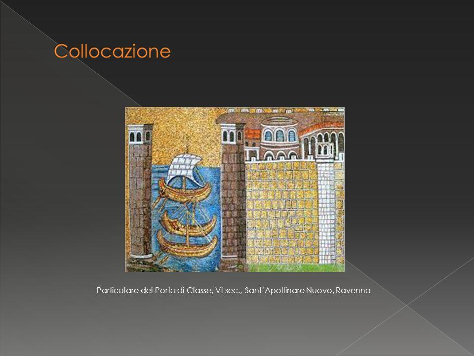 Particolare del Porto di Classe, VI sec., Sant'Apollinare Nuovo, Ravenna