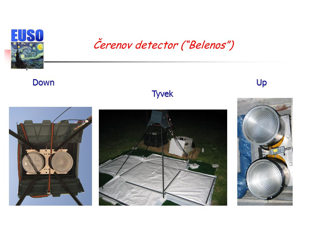 """Čerenov detector (""""Belenos"""") DownUp Tyvek"""