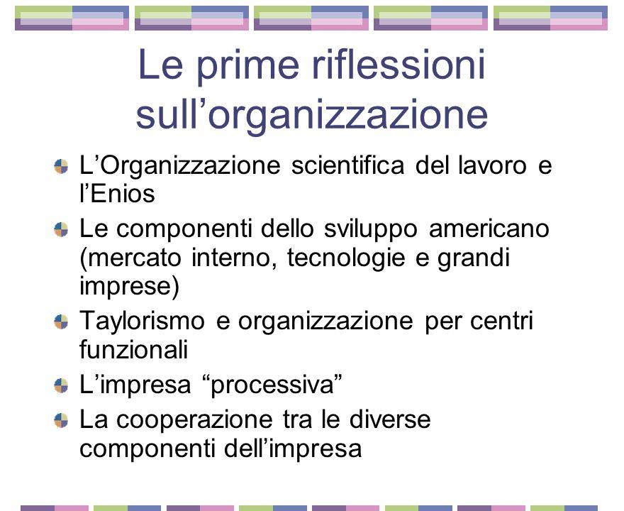 L'America vista da Adriano Olivetti La differenza tra il modello di consumi italiano e quello americano Le vendite rateali Motorizzazione di massa Nuo