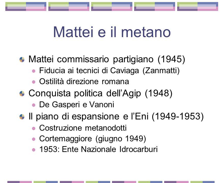 """Il caso Mattei: il film Il contesto: 1972 Decolonizzazione Ascesa di Cefis e """"borghesia di Stato"""" Il regista: Francesco Rosi Il film inchiesta La tecn"""