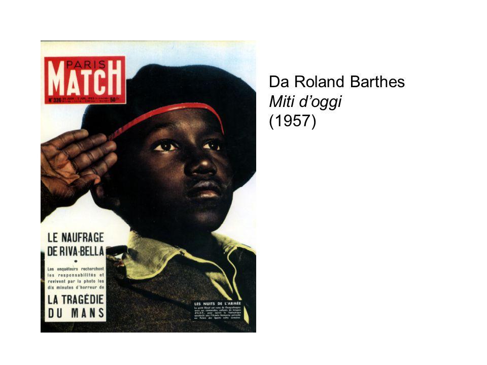 Da Roland Barthes Miti d'oggi (1957)