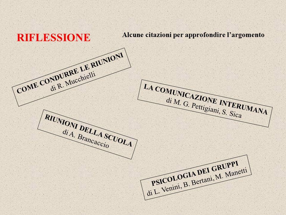 PSICOLOGIA DEI GRUPPI di L.Venini, B. Bertani, M.