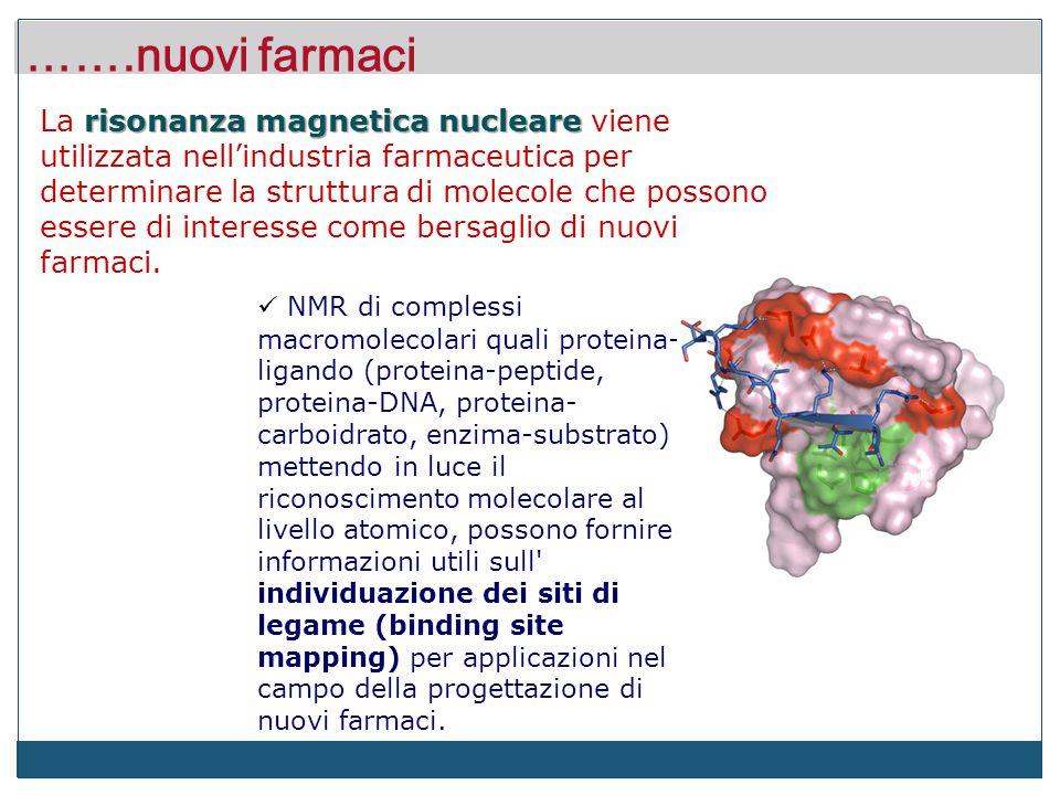 NMR: per capire occorre vedere in soluzione.