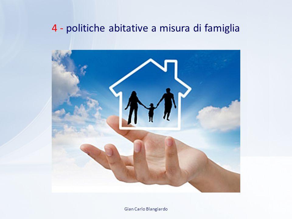 4 - politiche abitative a misura di famiglia Gian Carlo Blangiardo