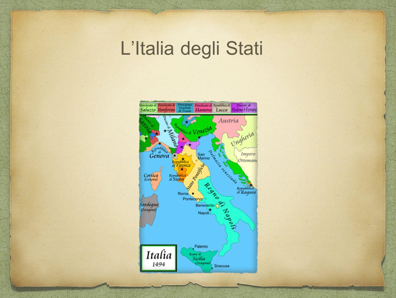 L'Italia degli Stati