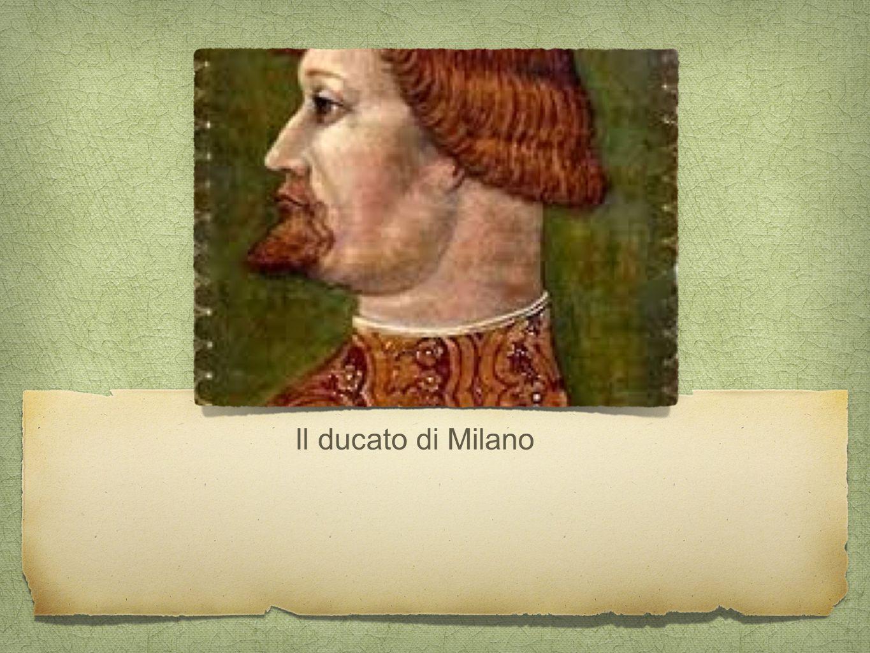 Visconti famiglia ghibellina Capostipite Matteo Visconti (1311-22) Governa come vicario dell'Imperatore Amplia i territori sotto il controllo di Milano