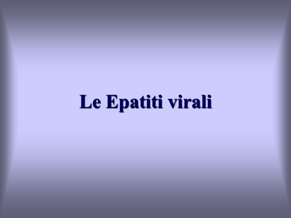 Le Epatiti virali