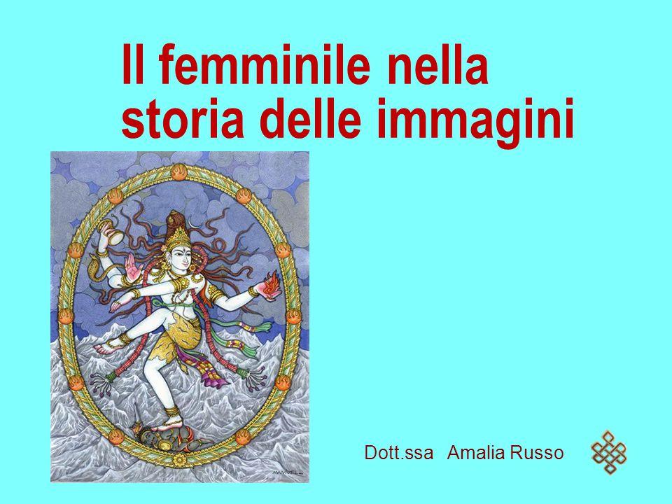 Il femminile nella storia delle immagini Dott.ssa Amalia Russo