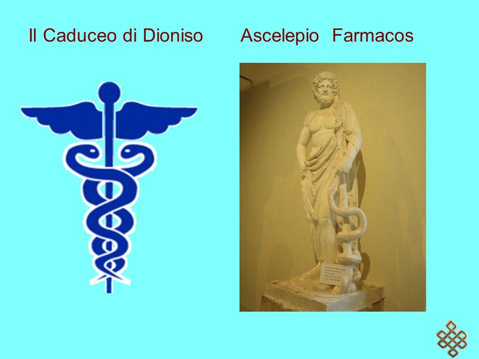 Il Caduceo di Dioniso Ascelepio Farmacos