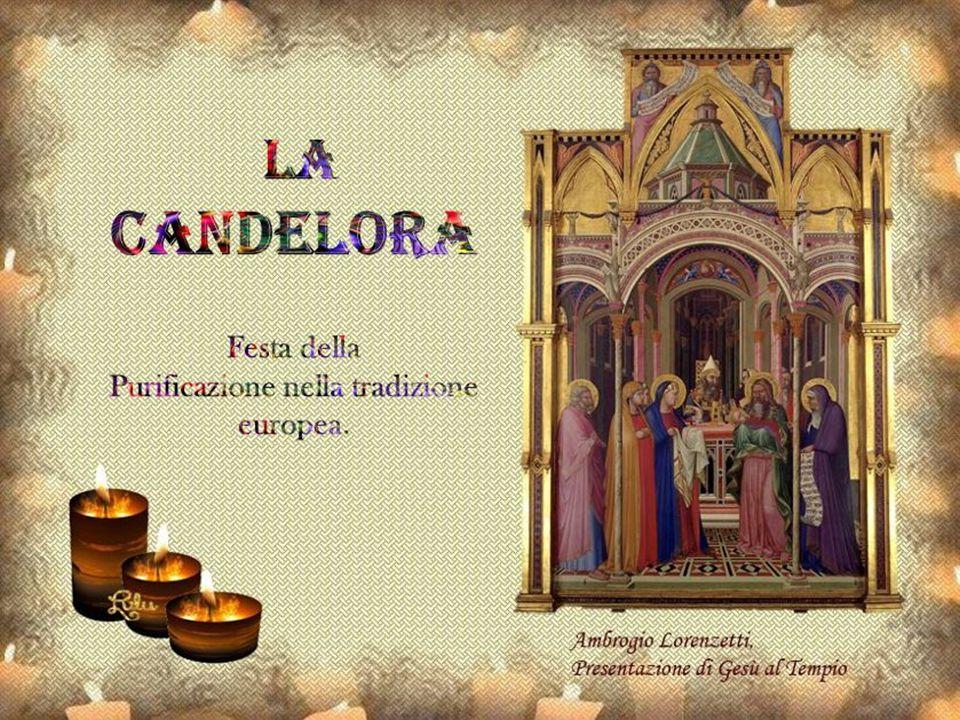 In questo giorno di festa della Candelora si benedicono le candele per ricordare che Gesù è la luce del mondo.
