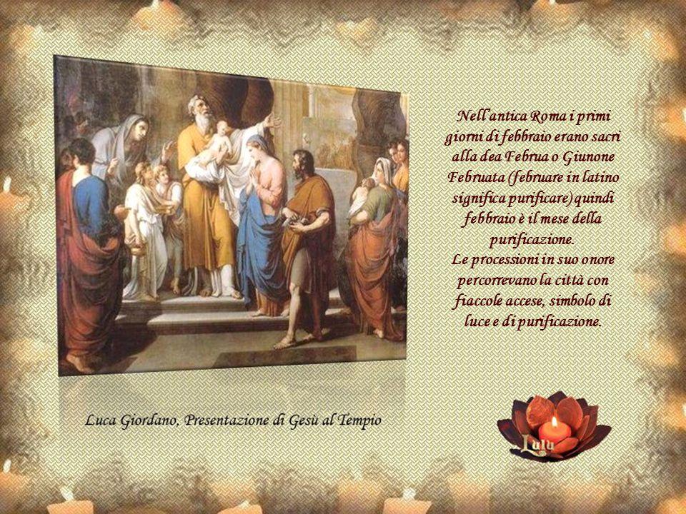 Nell'antica Roma i primi giorni di febbraio erano sacri alla dea Februa o Giunone Februata (februare in latino significa purificare) quindi febbraio è il mese della purificazione.