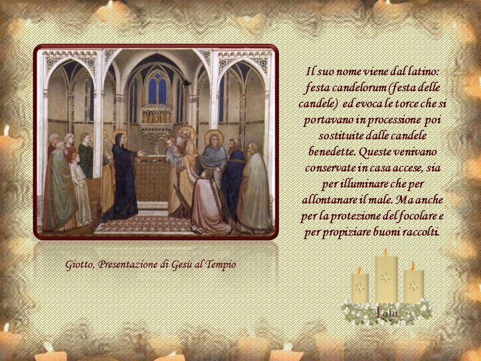 Verso la fine dell'Impero Romano, la chiesa cattolica, per combattere queste usanze pagane, istituì processioni che percorrevano la città con fiaccole accese, simbolo della luce e della purificazione che presero il nome di «Candelora» (Candlemas nei paesi anglosassoni).