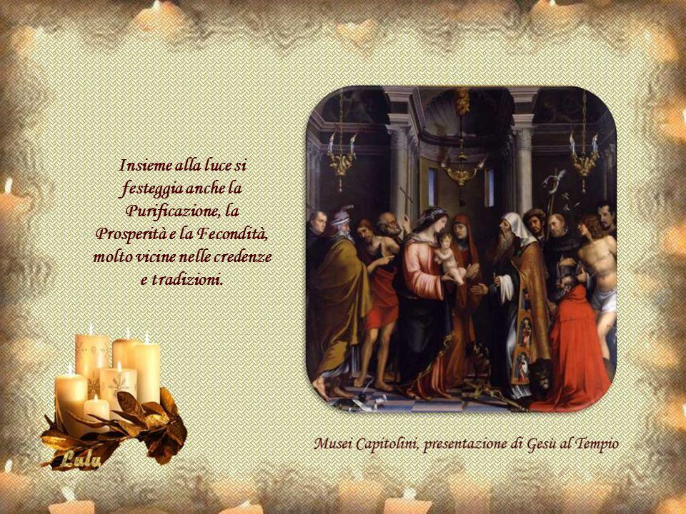 Il suo nome viene dal latino: festa candelorum (festa delle candele) ed evoca le torce che si portavano in processione poi sostituite dalle candele benedette.