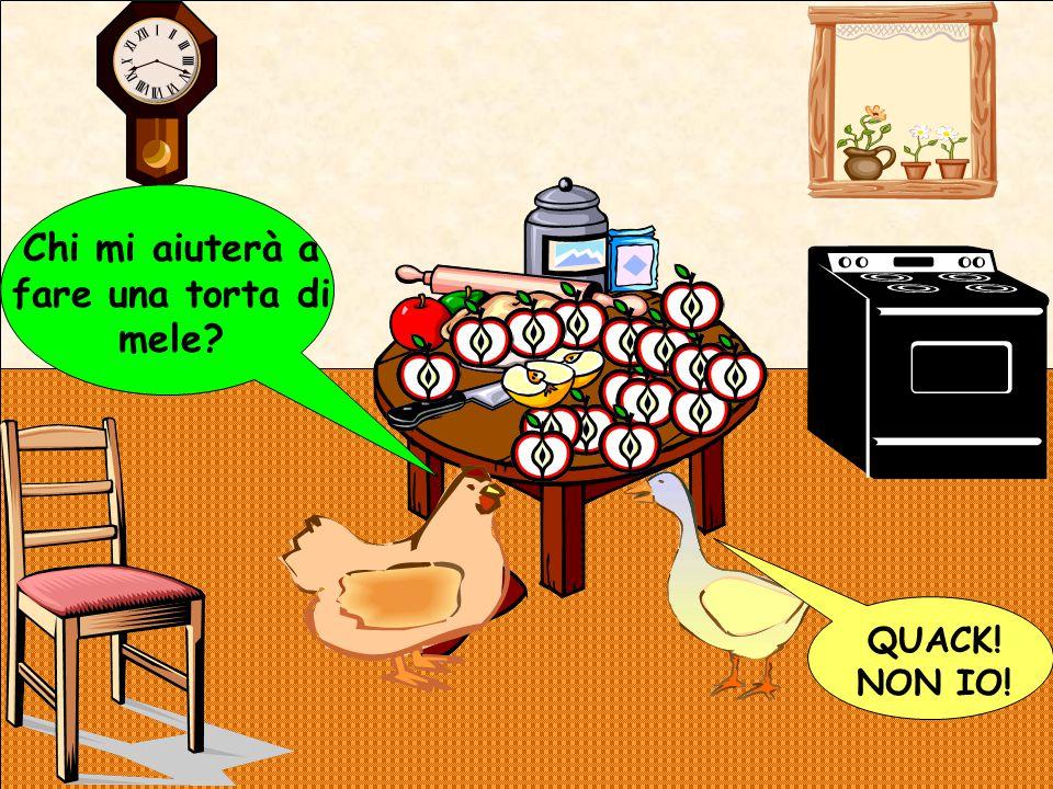 QUACK! NON IO! Chi mi aiuterà a fare una torta di mele?