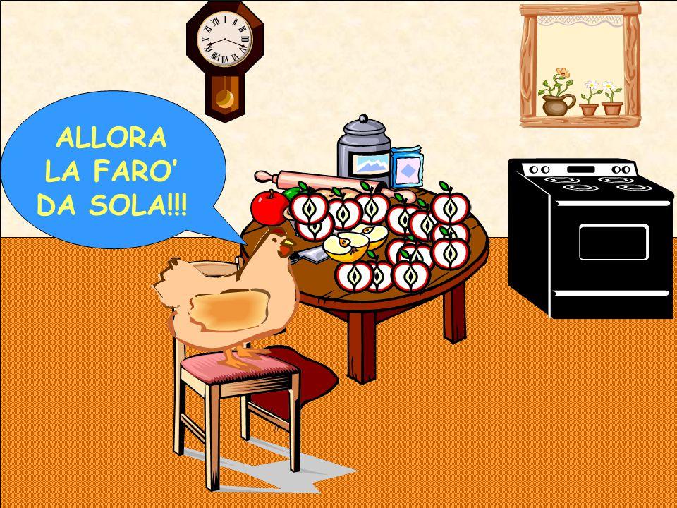 ALLORA LA FARO' DA SOLA!!!