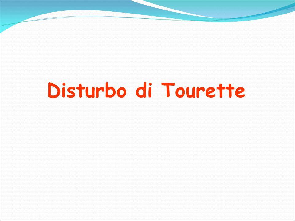 Disturbo di Tourette
