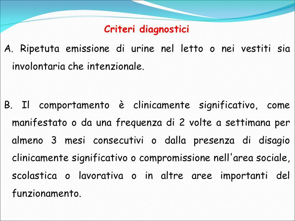 Criteri diagnostici A.