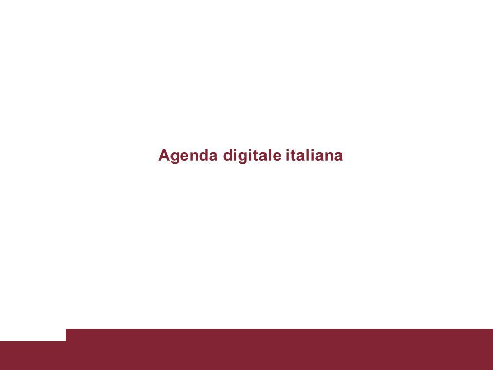 ADE: I 7 pilastri Tuttavia i benefici che i cittadini potrebbero trarre dall uso delle tecnologie digitali sono limitati da alcune preoccupazioni inerenti la riservatezza e la sicurezza e dalla mancanza o carenza di accesso a Internet, usabilità, capacità adeguate o accessibilità per tutti.
