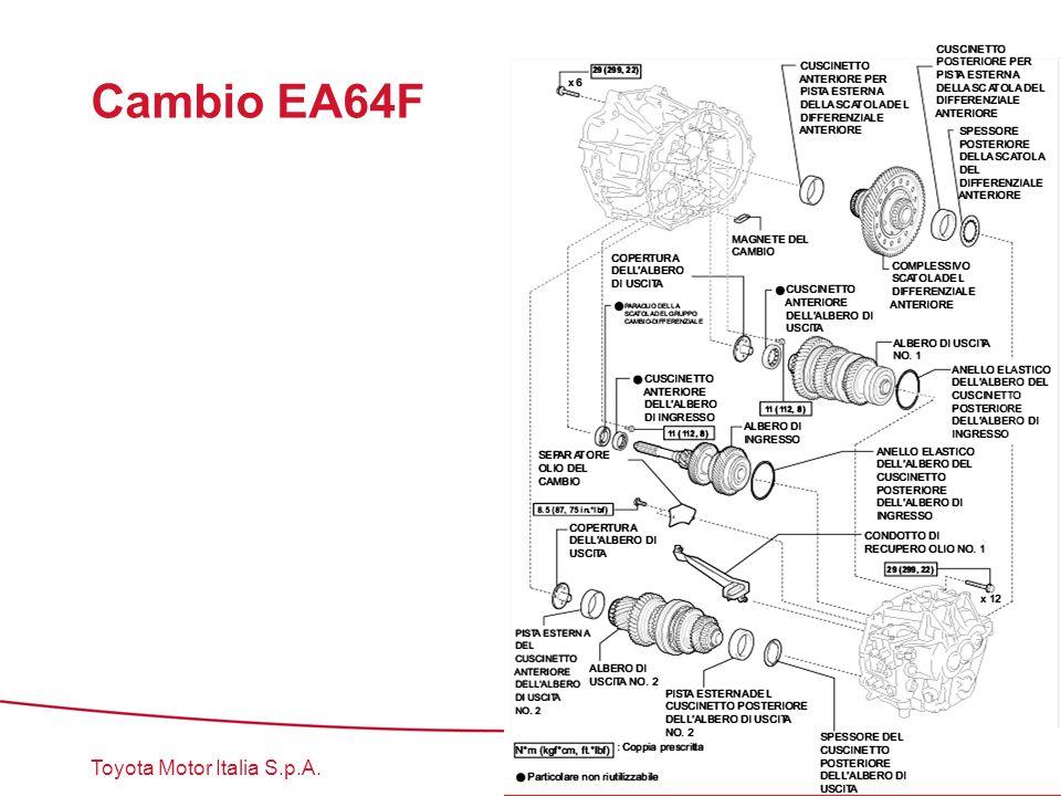 Toyota Motor Italia S.p.A. Cambio EA64F