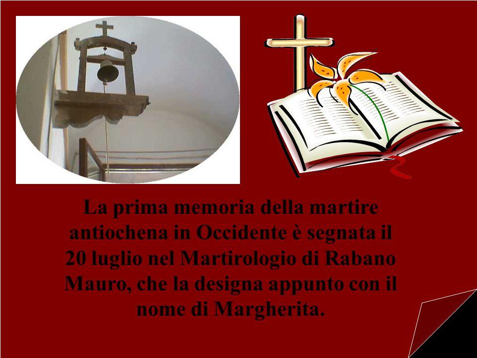 Il Monastero porta il titolo di Santa Margherita, l'antica martire e vergine di Antiochia di Pisidia.