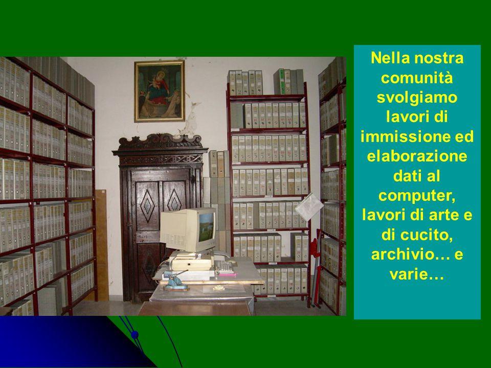 Per i monaci e le monache il Lavoro è importante, perché l'ozio è il nemico dell'anima, dice S.Benedetto nella Regola.