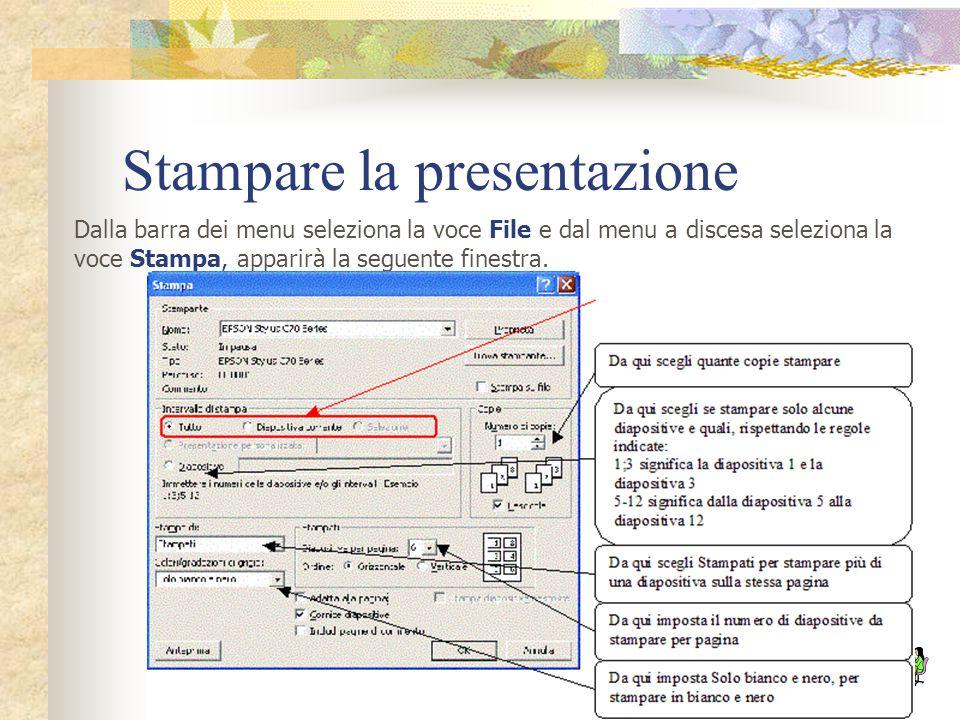 Cancellare e spostare diapositive Per cancellare una diapositiva devi selezionarla dall'area di struttura della presentazione o dalla Visualizzazione