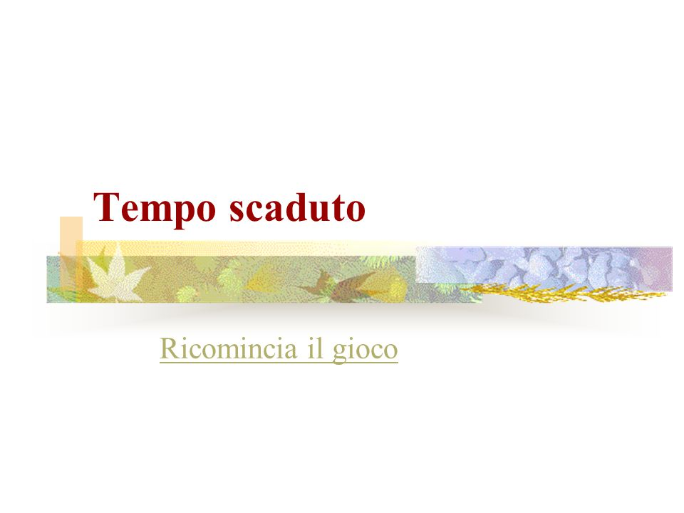 Hai 15 secondi per rispondere Firenze Milano Napoli Pisa Roma Torino Venezia Hai totalizzato 1 punto